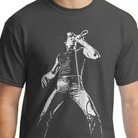 Bon Scott ac/dc t shirt Heavy Metal Vintage Style guitar rock black  SM-5XLG