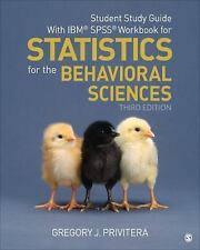 Student Study Guide With IBM® SPSS® Workbook for Statistics for the Behavioral S