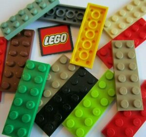 LEGO 2x6 PLATES (Packs of 4 Plates) Pick your Colour  NEW Design 3795