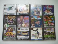 Lot de 12 Jeux Sony Playstation PS1 Version PAL