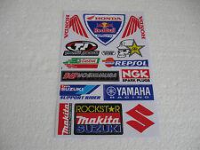 Sticker ADESIVO Handa CASTROL YAMAHA Makita Suzuki yoshimura AUTOCROSS GT FX