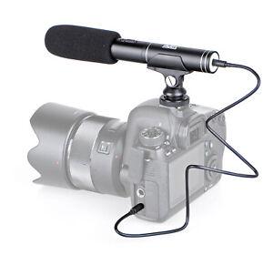 ayex-MC02 - Kamera-Richtmikrofon mit Schaumwindschutz