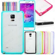 Carcasas Para Samsung Galaxy Note 4 de color principal transparente para teléfonos móviles y PDAs