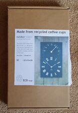 Reloj Y Termómetro, hechos de reciclados tazas de café