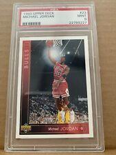 1993 Upper Deck #23 Michael Jordan PSA 9 93-94 BGS Bulls HOF