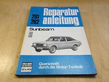 Reparaturanleitung Sunbeam (1250/1300/1500/1600) (1970-1973)