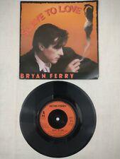 "BRYAN FERRY Slave To Love 1985 UK 7"" Vinyl VG+ CONDITION ROXY MUSIC"
