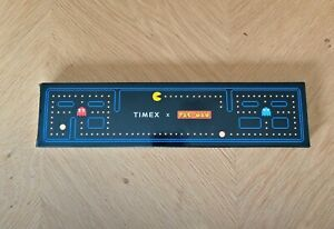 Timex PacMan T80 Gold Coloured Digital Watch
