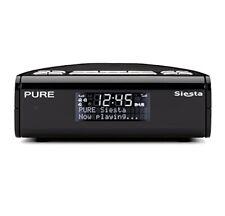 Reloj Despertador Pure Siesta Negro DAB +/FM Radio Digital