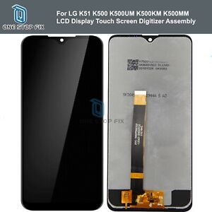 LG K51 K500 K500UM K500KM K500MM LCD Display Touch Screen Digitizer Assembly