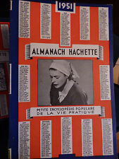 ALMANACH HACHETTE 1951Petite Encyclopédie Populaire De La Vie Pratique