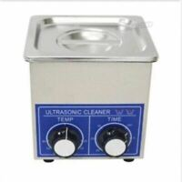 2L 80W Dental Jewelry Stainless Ultrasonic Cleaner Heater Timer 80 Degree fo