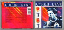 LEONARD COHEN LIVE - in Concert ( CD 1994 )