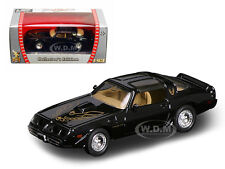 1979 PONTIAC FIREBIRD TRANS AM BLACK 1/43 MODEL CAR BY ROAD SIGNATURE 94239