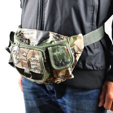Fly Fishing Waist Pouch Tackle Lure Bag Travel Bumbag Pack Military Adjustable