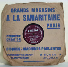 78T Les TROUBADOURS Disque Aiguille POMME D'AMOUR Film Chanté SAMARITAINE RARE