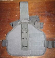 eagle industries G-CODE SAS drop leg holster panel SOC rig XST OSH foliage green