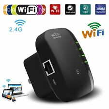 Wifi Repeater 300Mbps Wireless Network Range Extender Singal Booster Amplifiers