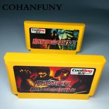 2piece Game Collection(400in1 Game Cartridge+198in1) 60 Pins Game Card For 8 Bit