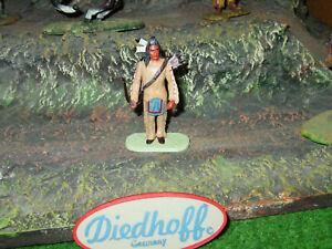 Diedhoff - Elastolin -  Indianer , in sehr schöner Bemalung, 7 cm, top