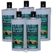 Nano Plast 5 x 500ml Kompaktpflege Autopolitur Nano Technologie (2043W)