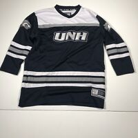 UNH University Of New Hampshire Hockey Jersey Wildcats Youth Boys Size L 16-18