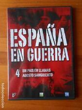 DVD ESPAÑA EN GUERRA 4 - UN PAIS EN LLAMAS - AGOSTO SANGRIENTO - CAJA SLIM (E6)