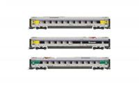 Lima HL4673 HO Gauge FS Trenitalia Coach Set (3) VI