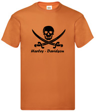 Maglietta T-Shirt motorcicle moto Skull Harley Davidson Inspired