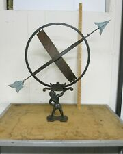 Vintage Swedish Armillary Sundial attributed to Sune Rooth