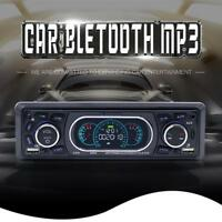DC12V LCD MP3 Player Vehicle Bluetooth Handsfree Calling U Disk Card FM Radio