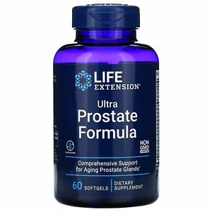 Ultra Natural Prostate Support Life Extension 60 Softgels