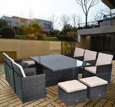 Aluminium More than 8 Up to 10 Garden & Patio Furniture Sets