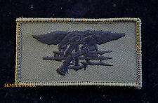 US NAVY SEAL TEAM  TRIDENT OD HAT FLAG PATCH BIN LADEN UDT USS PATCH