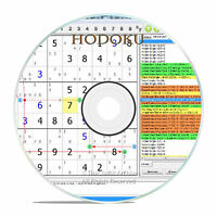 HODOKU, A SUDOKU TRAINING GAME, BRAIN TWISTER FOR THE PC, WITH BONUS GAMES