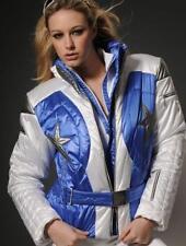 $1050 MDC DORIS PFISTER Women sz 6 Ski/Snowboard Winter Jacket Coat Belted small