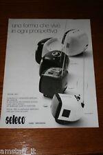 AF8=1972=SELECO RADIO TELEVISORE TV=PUBBLICITA'=ADVERTISING=WERBUNG=