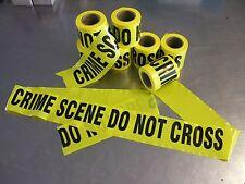 """Nastro CSI """"Crime Scene Do NOT cross"""" 20 metri tape giallo - Scena del crimine"""