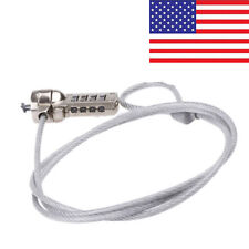 COMPUTER NOTEBOOK LAPTOP LOCK SECURITY CABLE CHAIN for HP Dell IBM Mac