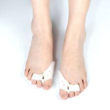 2 x Gel Bunion Protector Toe Corrector Straightener Alignment Separator Spreader