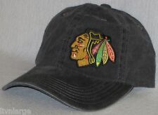 Chicago Blackhawks LADIES CAP ~HAT ~CLASSIC NHL PATCH/LOGO ~BLACK ~NEW ~HOT!