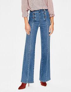 BODEN Damen Jeans hose Helston Sailor Jeans UK 10L 36