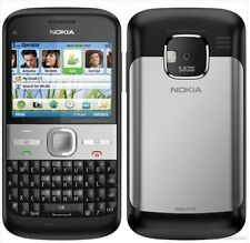 Nokia E Series E5-00 3G WIFI QWERTY Bar 5.0MP Symbian Cell Phone Unlocked Black