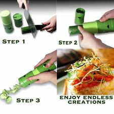 New Vegetable Fruit Twister Cutter Slicer Processing Device Kitchen Utensil Tool