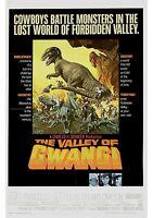 The Valley of Gwangi - Ray Harryhausen - A4 Laminated Mini Movie Poster