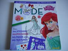 MODE STYLE STAR / JE DESSINE LA MODE DES PRINCESSES - ARIEL DISNEY - 6 ANS +
