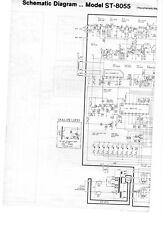 TECHNICS ST8055 (K) diagramma schematico