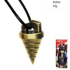 Anime Tengen Toppa Gurren Lagann Core Drill Pendant Resin Necklace Simon Cosplay