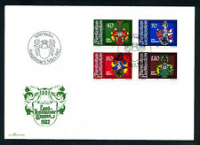 Liechtenstein 1982 FDC Coats of Arms, Wappen, Mi. 793 - 796.