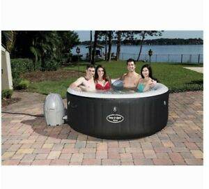 Lay Z Spa AirJet 2-4 Person Inflatable Miami Hot Tub - Bestway